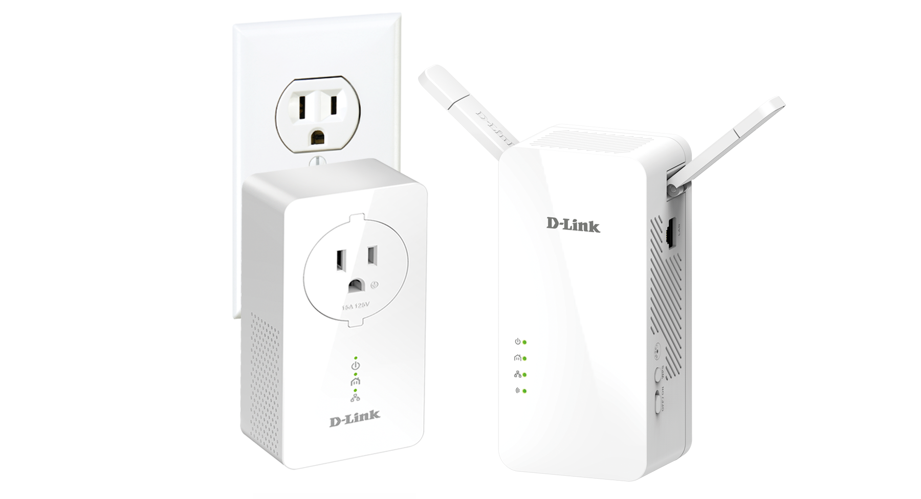 D-LINK Powerline AV2 Wireless AC1200 Starter Kit