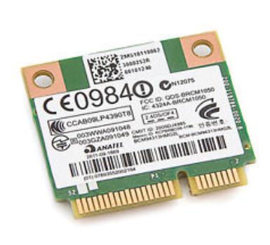 HP 593836-001 notebook spare part WLAN card
