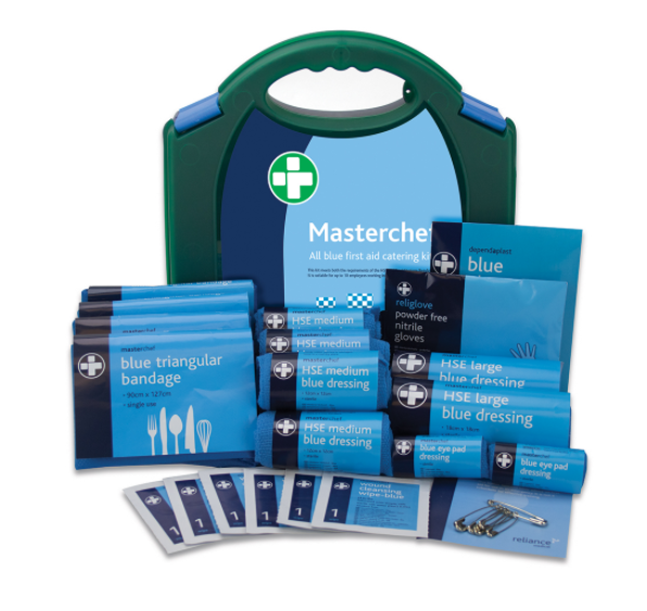 Reliance Medical Reliance 10 Person Masterchef Blue First Aid Catering Kit