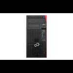 Fujitsu ESPRIMO P757/E90+ 3.9 GHz 7th gen Intel® Core™ i3 i3-7100 Black,Red Tower PC