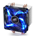 DeepCool Gammaxx 400 Heatsink & Fan, All Intel & AMD Sockets, Fluid Dynamic, Blue LED