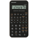Sharp EL501XB-WH - BIANCA calculator Pocket Printing Black, White
