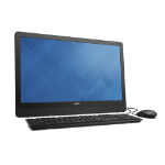 "DELL Inspiron 3464 2.4GHz i3-7100U 23.8"" 1920 x 1080pixels Touchscreen Black All-in-One PC"