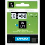 DYMO 43613 (S0720780) DirectLabel-etikettes, 6mm x 7m
