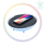 mBeat Wireless Charging Station with RGB Colour Lighting Charging Stand - Compatible with iPhone 8/8 PLUS/