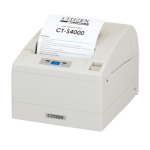 Citizen CT-S4000 Thermal POS printer 203 x 203DPI White
