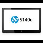 "HP EliteDisplay S140u 14"" LED Black computer monitor"