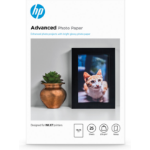 HP Advanced Photo Paper, glanzend, 25 vel, 10 x 15 cm zonder rand
