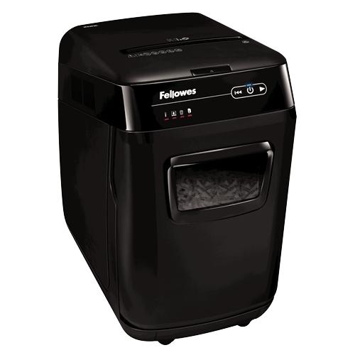 Fellowes AutoMax 200C Cross shredding Black paper shredder
