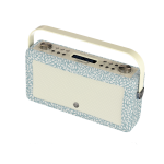 ViewQwest Hepburn Mk II radio Personal Analog & digital Blue, White