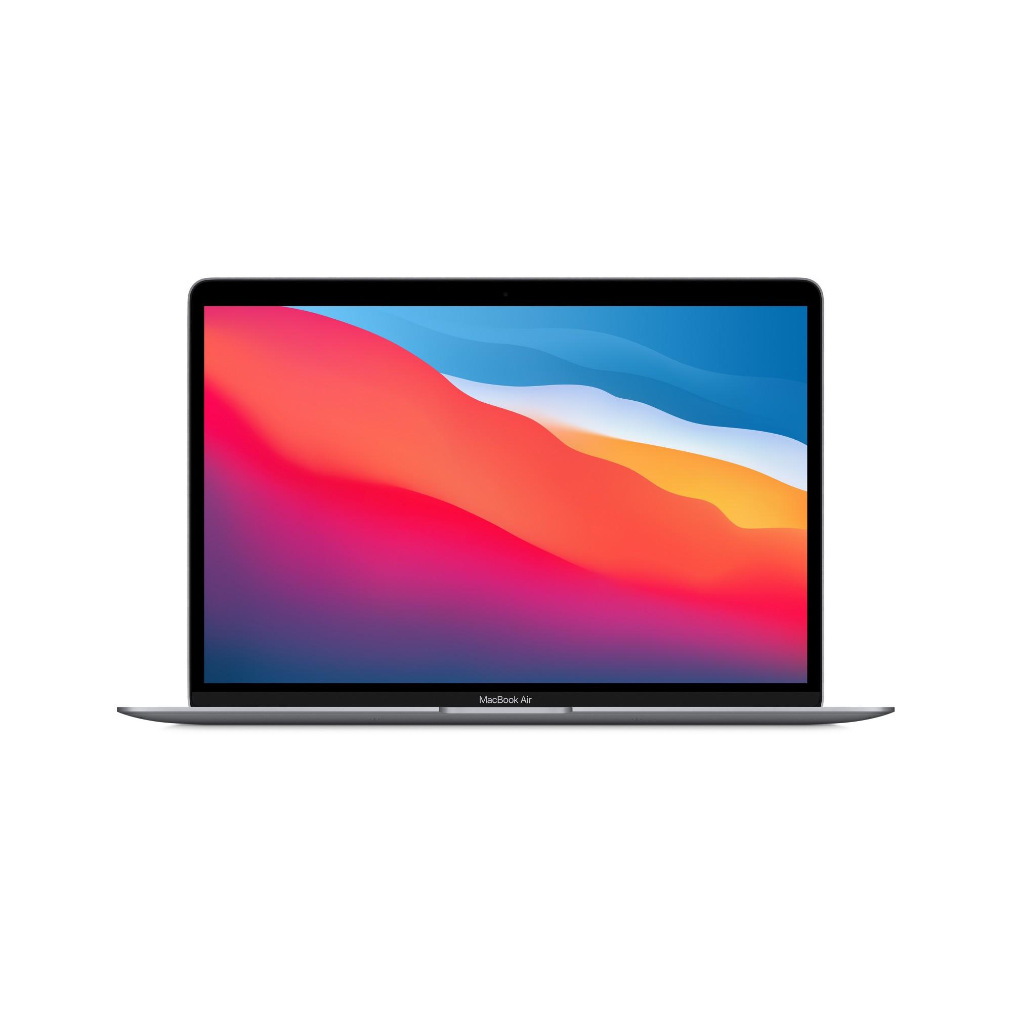 "Apple MacBook Air Portátil Gris 33,8 cm (13.3"") 2560 x 1600 Pixeles Apple M 8 GB 256 GB SSD Wi-Fi 6 (802.11ax) macOS Big Sur"