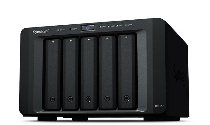 Synology DS1517 NAS Desktop Ethernet LAN Black