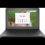 "HP Chromebook 11 G6 EE Grey 11.6"" 1366 x 768 pixels Touchscreen 1.10 GHz Intel® Celeron® N3350"