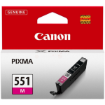 Canon 6510B001 (CLI-551 M) Ink cartridge magenta, 319 pages, 7ml