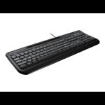 Microsoft Wired Keyboard 600, BE, AZERTY USB AZERTY Black