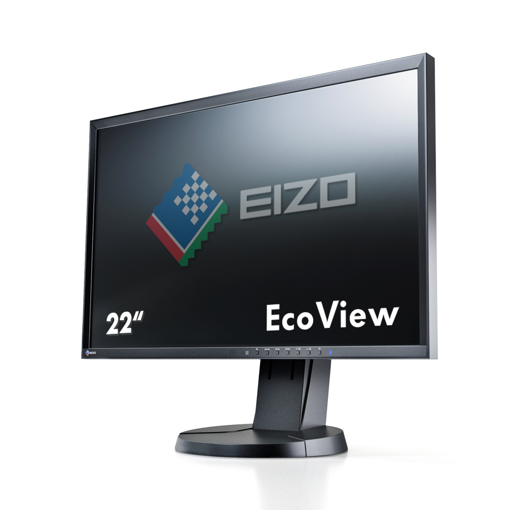 "EIZO FlexScan EV2216WFS3 22"" TN+Film Black computer monitor"