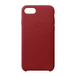 "Apple MQHA2ZM/A mobile phone case 11.9 cm (4.7"") Skin case Red"