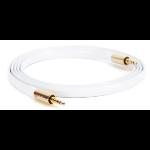 Griffin Premium 1.8m 3.5mm 3.5mm White audio cable