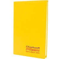 Chartwell L WEATHER RESIST SURVEY BOOK YLW