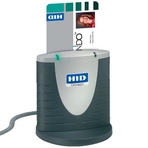 HID Identity OMNIKEY 3121 smart card reader Indoor Grey USB 2.0