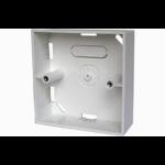 LMS Data 86 x 86 x 46mm - Single Gang Back Box - Surface Mount