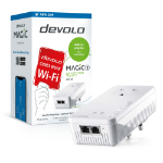 Devolo Magic 2 WiFi next 2400 Mbit/s Ethernet LAN Wi-Fi White 1 pc(s)