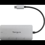 Targus ACH226BT interface hub USB 3.2 Gen 1 (3.1 Gen 1) Type-C 5000 Mbit/s Silver