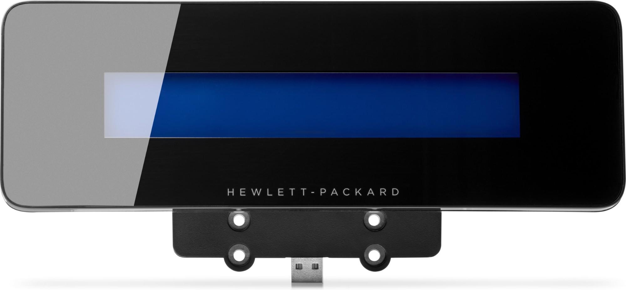 HP ElitePOS Top Mount 2x20 CFD 20 cijfers USB 2.0 Zwart