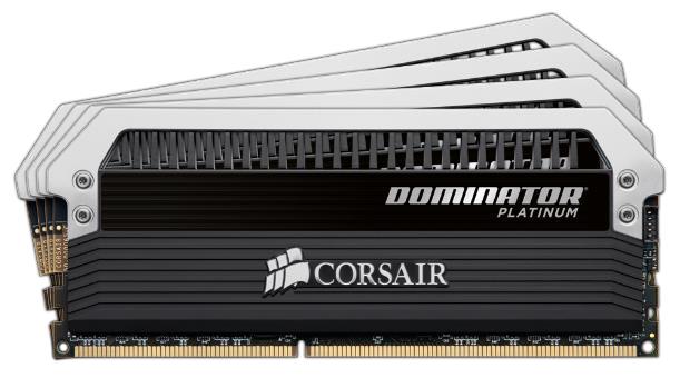 Corsair DOMINATOR Platinum 32GB (4x8GB) 32GB DDR4 3000MHz memory module