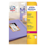 Avery L7769-40 self-adhesive label Rounded rectangle Permanent White 160 pc(s)