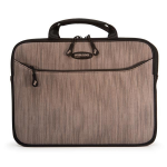 "Mobile Edge ME SlipSuit notebook case 16"" Sleeve case Black,Brown"