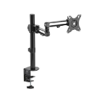 Brateck Articulating Aluminum Single Monitor Arm 17'-32' Support up to 8kg