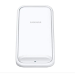Samsung Standing Wireless Charger - Fast Charge for Samsung and Apple - WHITE