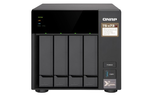 QNAP TS-473 Ethernet LAN Tower Black NAS