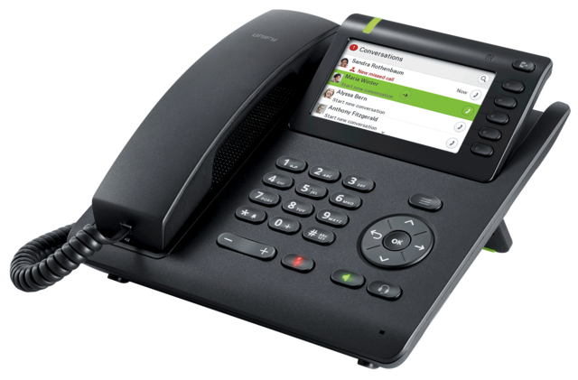 Unify OpenScape CP200 IP phone Black LED