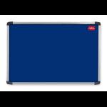 Nobo EuroPlus Felt Noticeboard Blue 2400x1200mm