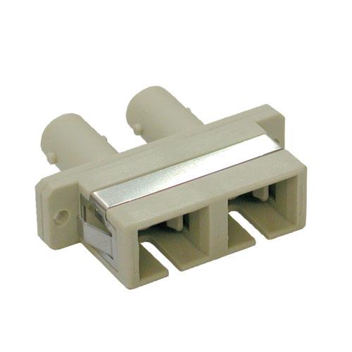 Tripp Lite Duplex / Simplex Multimode Fiber Coupler Adapter (SC/ST)