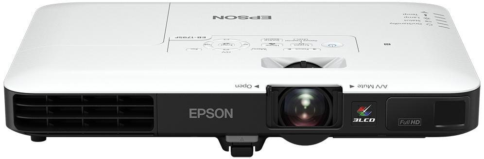 Epson EB-1795F data projector 3200 ANSI lumens 3LCD 1080p (1920x1080) Desktop projector Black,White
