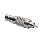Tripp Lite T020-001-ST9 FC/ST 1pcs Silver fiber optic adapter