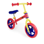 BLAZE AND THE MONSTER MACHINES Kid's Metal Balance Bike with 10-inch Flat-free EVA Tires and Adjustable Seat/Handlebar, Multi-colou