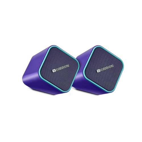 Canyon CNS-CSP203PU loudspeaker 1-way 5 W Blue Wired