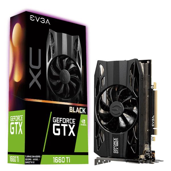 Gf Gtx 1660 Ti Xc Black Gaming 6GB Gddr6 Hdb Fan