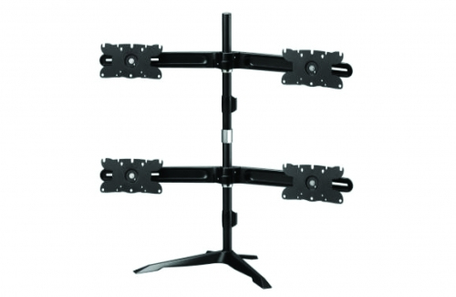 Quad Monitor Stand Mount Max 32in Display