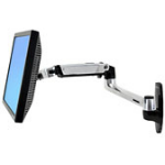 "Ergotron LX Wall Mount LCD Arm 81,3 cm (32"") Zwart"