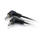 C2G 80122 0.5m 3.5mm 3.5mm Black audio cable