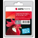 AgfaPhoto APCCLI571XLSET ink cartridge Compatible Black, Cyan, Magenta, Yellow 5 pc(s)