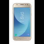 "Samsung Galaxy J3 (2017) SM-J330F 12.7 cm (5"") 2 GB 16 GB Dual SIM Gold 2400 mAh"