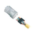Black Box FMTP5S-STR wire connector RJ-45 Silver