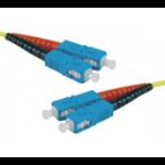 Hypertec 392320-HY fibre optic cable 1 m SC OS2 Yellow