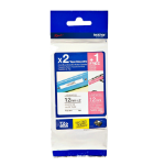 Brother TZE-32M3 P-Touch Ribbon, 12mm x 8m, Pack qty 3